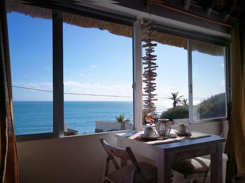 bungalow en canos de meca vista mar ventana poniente